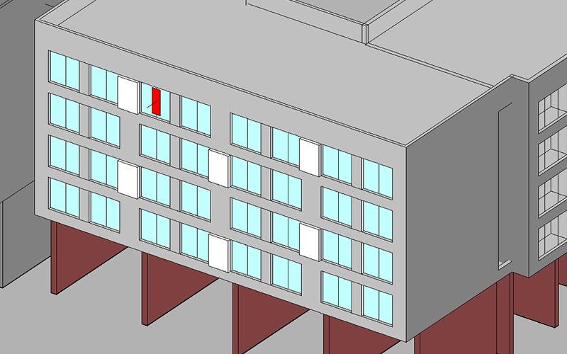 공동주택 분석세대 가시면적